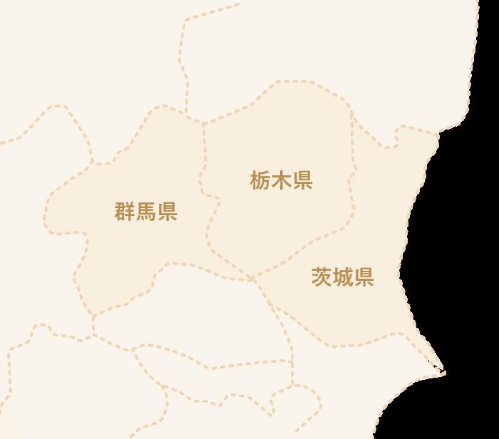 配送エリアの地図