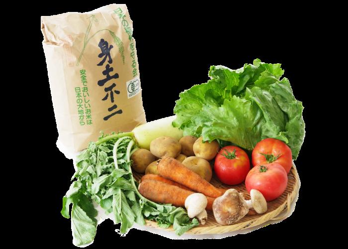 米・野菜・果物