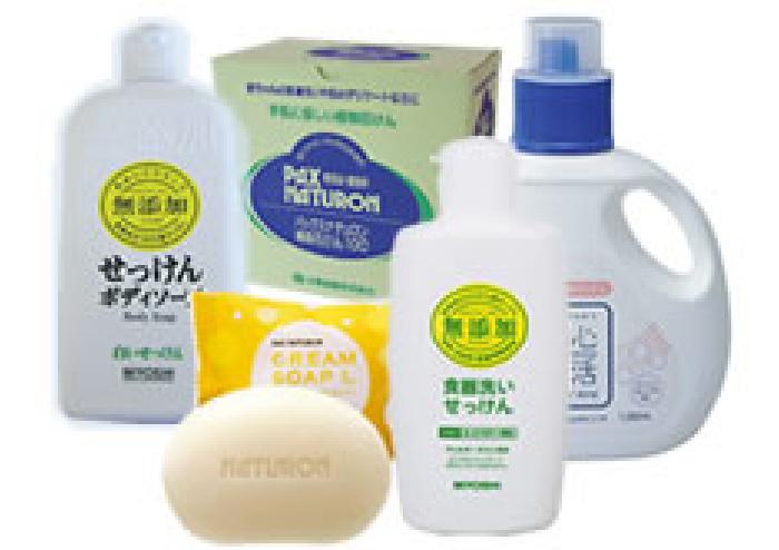 環境にも人にも優しい石鹸